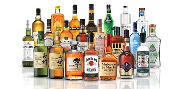 premium spirits brands beam suntory